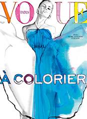 Vogue à colorier n°02