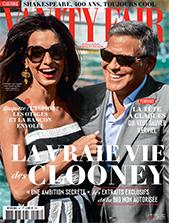Vanity Fair Les Clooney