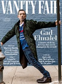 Vanity Fair N°63 - Gad Elmaleh