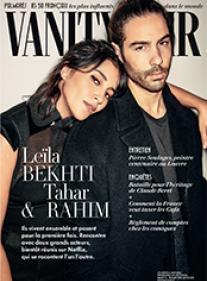 Vanity Fair 75 : Leïla Bekhti & Tahar Rahim