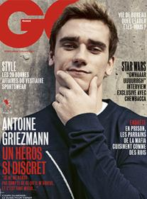 GQ n°120 - Antoine Griezmann