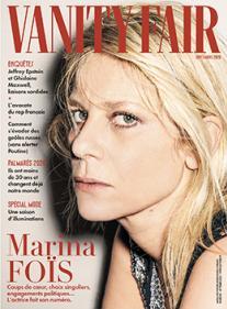 Vanity Fair - Marina Foïs