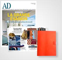 abonnement ad magazine architectural digest papier num rique le kiosque cond nast. Black Bedroom Furniture Sets. Home Design Ideas