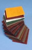 Non Woven Abrasive Web sometimes called Fibral, Scotchbrite or Webrax. A superbly versatile product