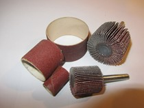 Abrasive Rotary Products For Drills And Small Tools such as abracaps, cartridge rolls, flap wheels,