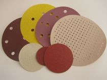 Velcro sanding discs are circular abrasive discs from 35mm to 610mm for all types of sanders