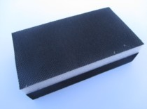 Double Sided Handblock For 70 X 125MM Velours Sheets