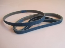 Zirconia Blue Belts for Linisher / Dynafile  10 x 330 mm