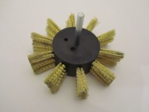 Flap Brush - Brass Coated Steel Wire