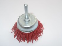 Grittyflex Cup Brush Coarse (Red) 50mm