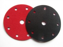 Velours / Velcro backing pad protector disc. 8 holes + 1. 150mm. For Festool.