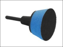 50mm Tapered Velcro Backing Pad For Velours Sanding Discs (soft face)