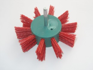 Grittyflex Flap Brush Coarse (Red) 100mm