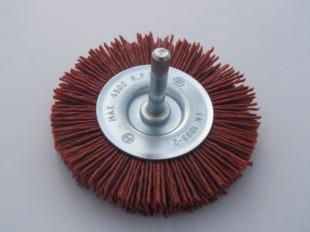 Grittyflex Wheel Brush Coarse (Red) 75mm
