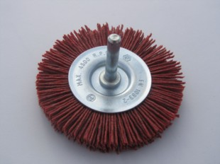 Grittyflex Wheel Brush Coarse (Red) 75mm