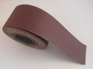 Hermes 75mm Cloth Backed RB 346 Heavy Duty Abrasive Roll