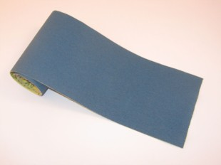 Hermes RB406 Blue and Yellow Abrasive Roll 100mm Wide