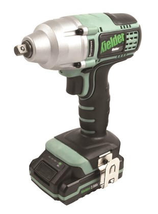 "Kielder 3/8"" Impact Wrench  with 2 x 18volt  2ah Battery, Charger and Carry Case"