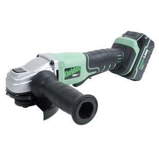 Kielder 115mm Angle Grinder with 2 x 18volt 4ah Battery, Charger and Carry Case