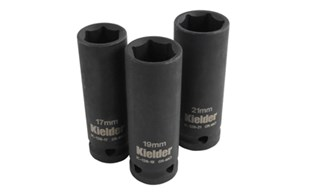 Kielder Deep Impact Socket Set 17,19 and 21MM