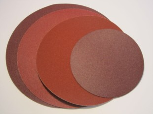 ALUMINIUM OXIDE 230MM VELOURS BACKED DISC