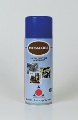 METALUBE Metal Cutting and tapping Aerosol prevents metal seizure
