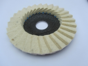 POLISHING / FINISHING FLAP DISC 115MM DIAMETER FOR GRINDERS