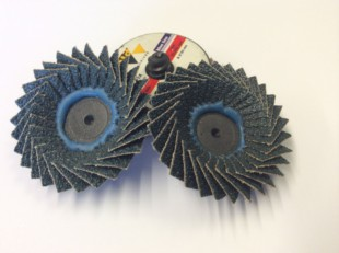 Flap Discs With Roloc Compatible Mounting 50mm Diameter
