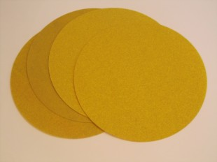 125mm Velours Discs Non perforated Aluminium Oxide
