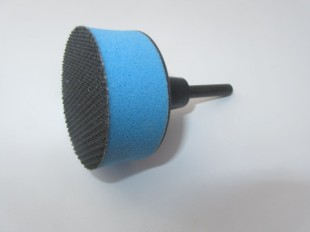 75mm Velcro Backing Pad For Velours Sanding Discs (soft face)