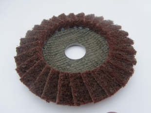 MEDIUM SURFACE CONDITIONING FLAP DISC 115MM DIAMETER FOR GRINDERS