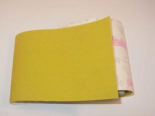 Velours Backed Aluminium Oxide Roll 115mm