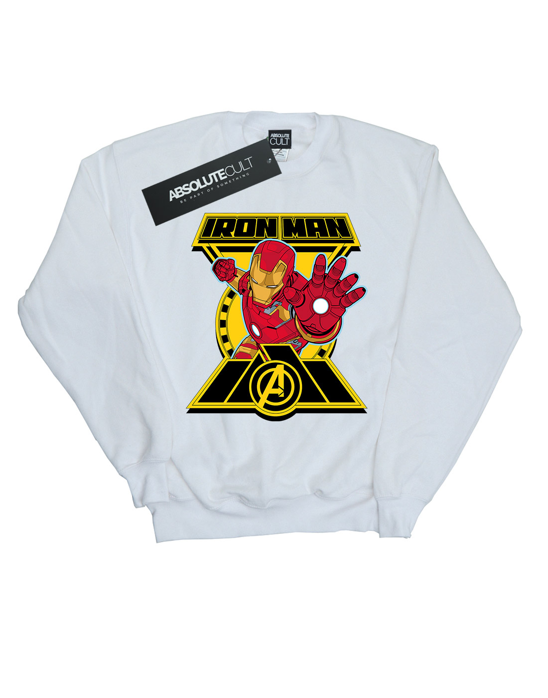 Marvel Herren Avengers Iron Man Man Man Logo Sweatshirt | Wonderful