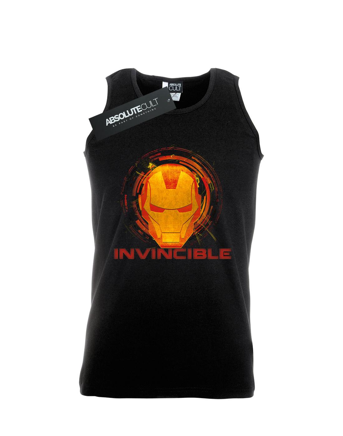 Marvel-Men-039-s-Avengers-Iron-Man-Invincible-Tank-Top thumbnail 5