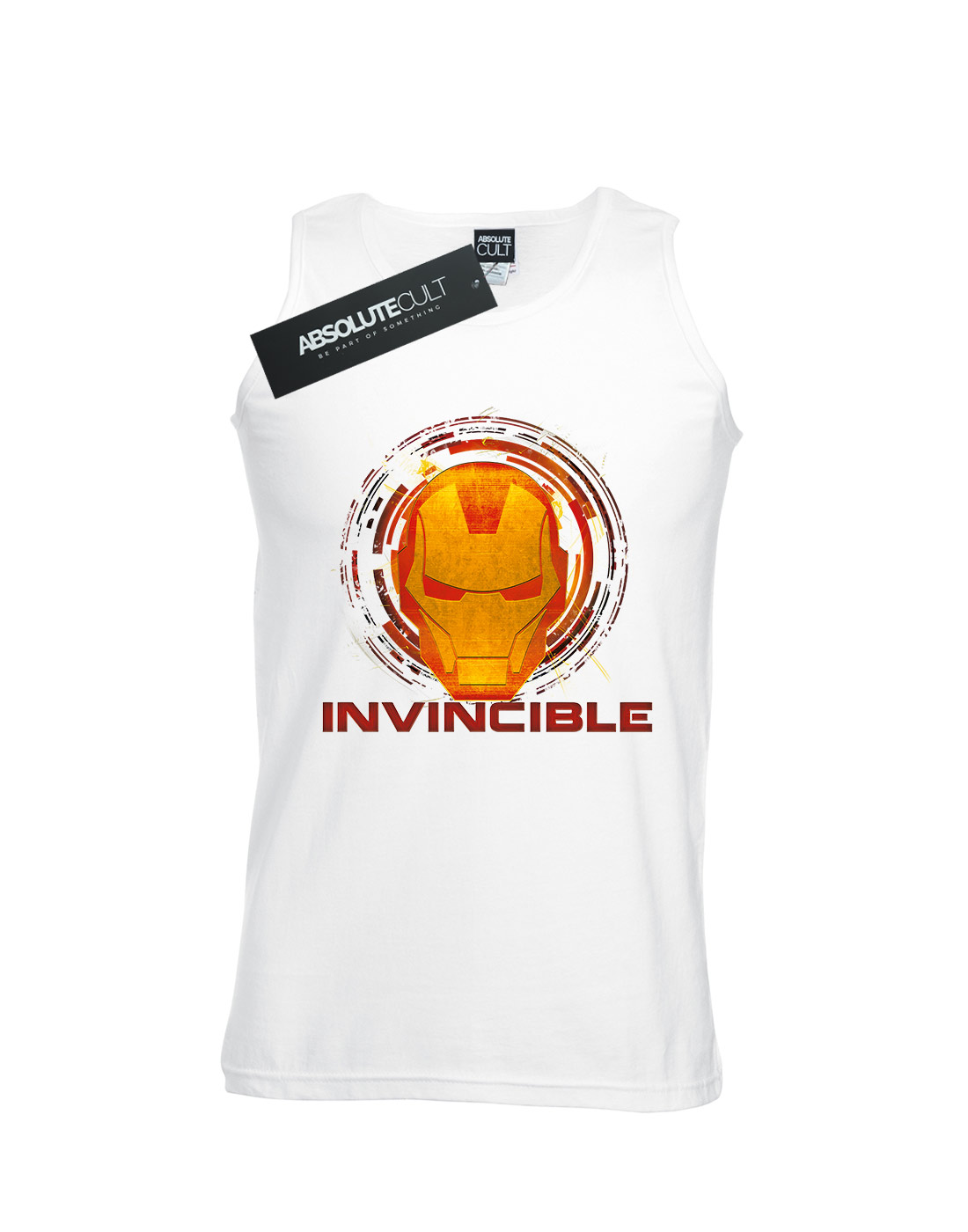 Marvel-Men-039-s-Avengers-Iron-Man-Invincible-Tank-Top thumbnail 8