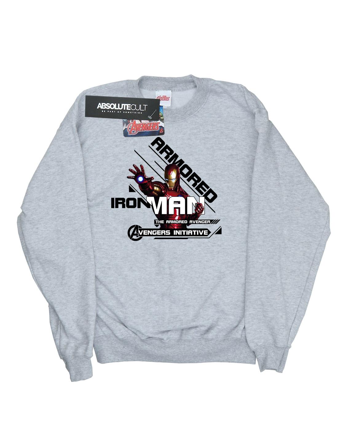 Marvel Damen Iron Iron Iron Man ArmGoldt Avenger Sweatshirt ecb6aa