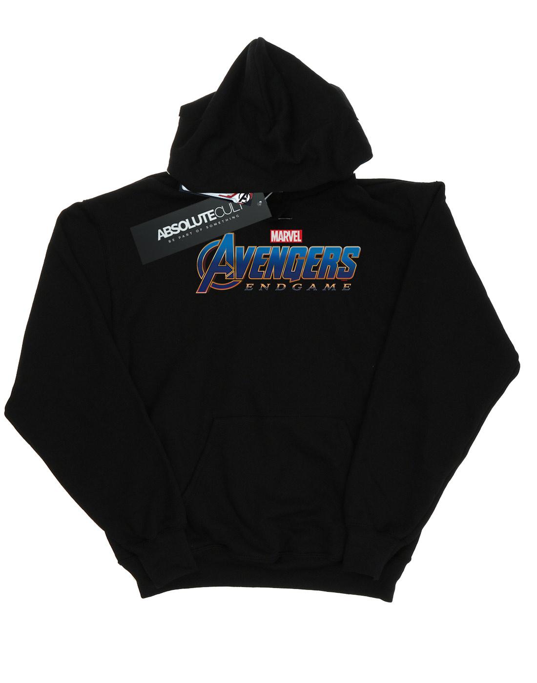 Marvel Men/'s Avengers Endgame Logo Hoodie