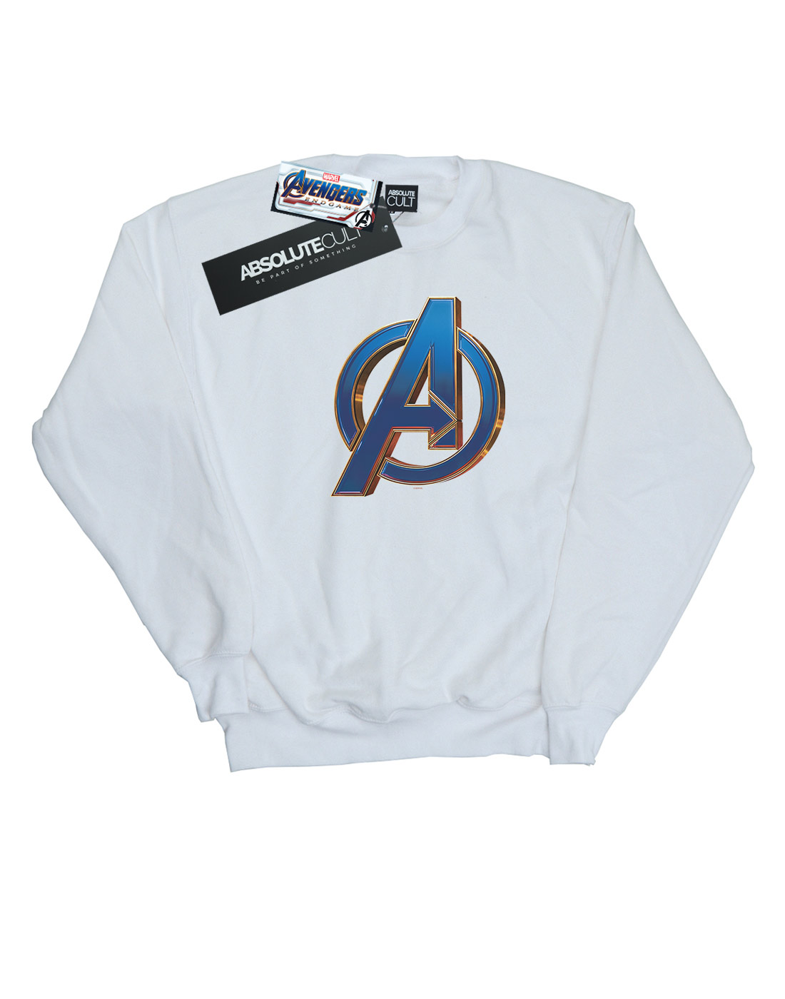 Marvel Damen Avengers Endgame Endgame Endgame Heroic Logo Sweatshirt efbf2a