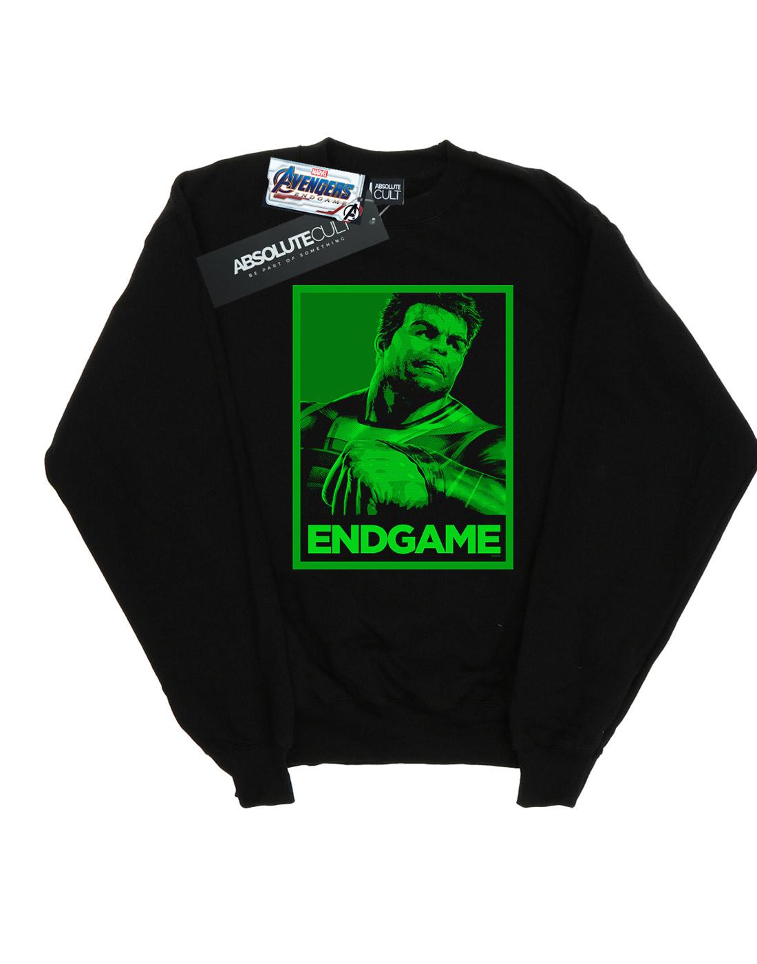 Marvel Herren Avengers Endgame Hulk Poster Sweatshirt Sweatshirt Sweatshirt | Shopping Online  4417b2