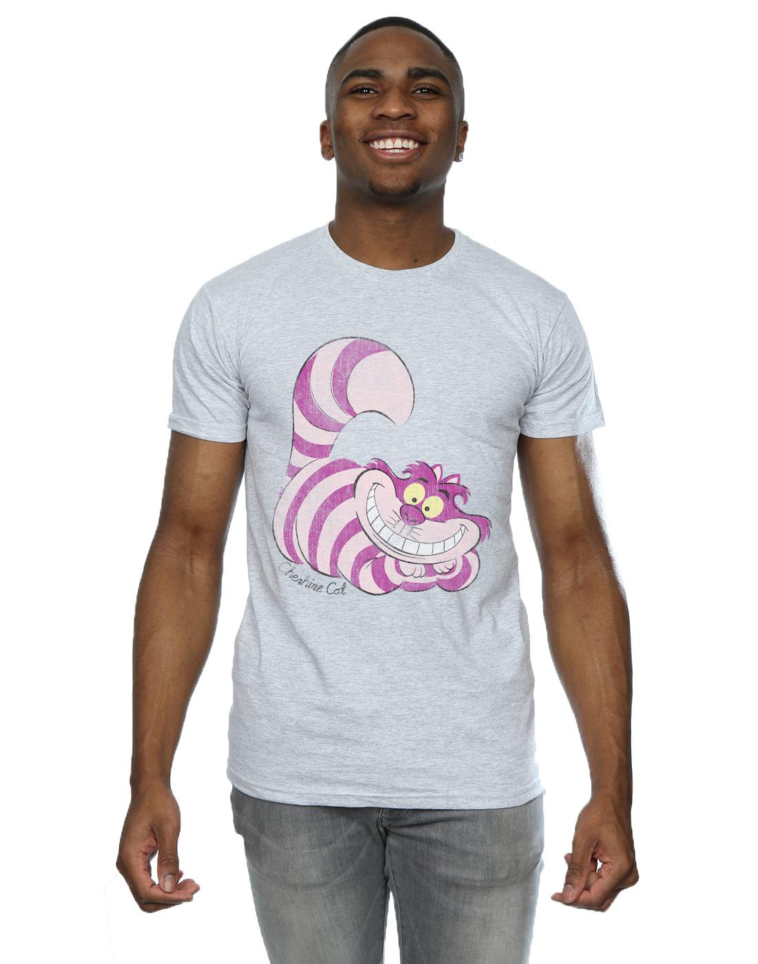 Disney-Homme-Alice-in-Wonderland-Cheshire-Cat-T-Shirt