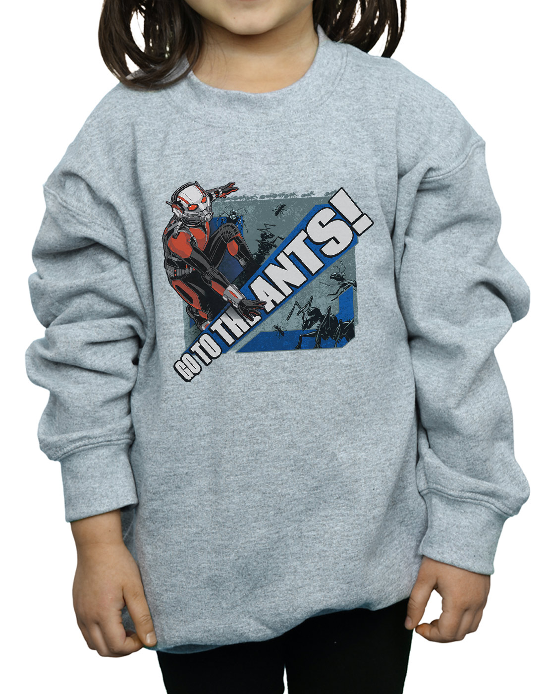 Marvel-Maedchen-Ant-Man-Go-To-The-Ants-Sweatshirt