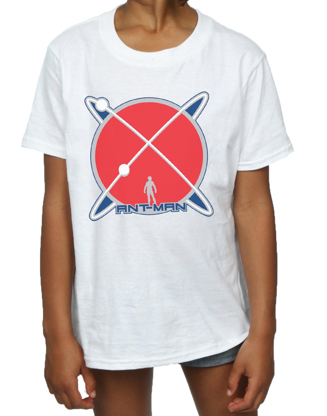 Marvel-Maedchen-Ant-Man-Planet-Logo-T-Shirt