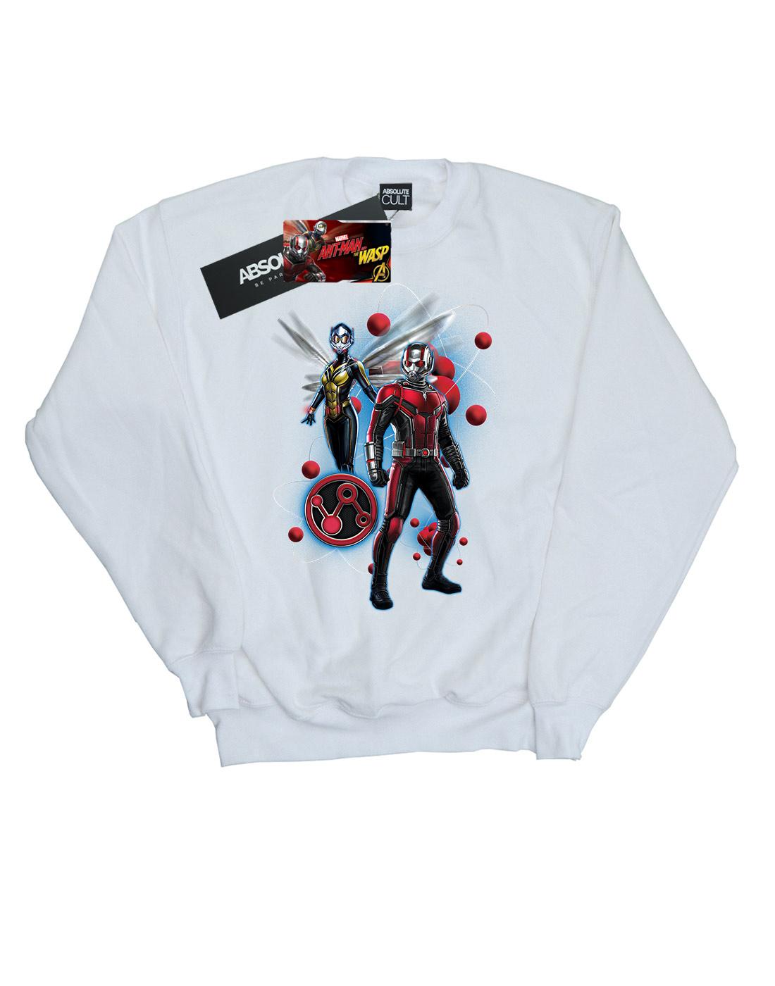 The Uomo Felpa e Particle Ant Wasp man Pose Marvel wISxaI