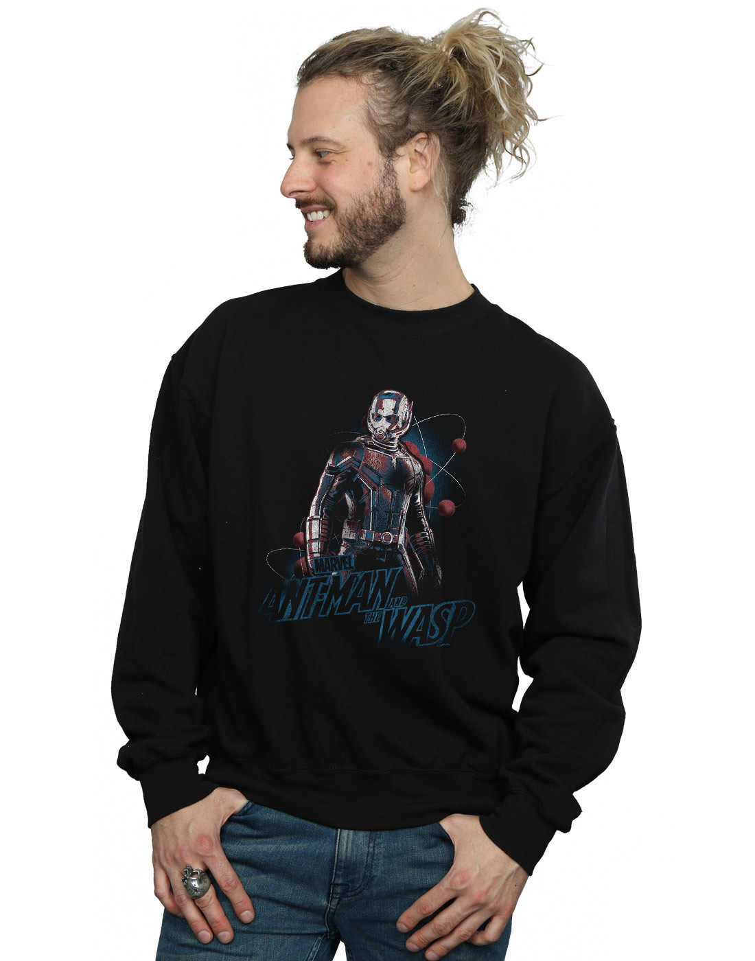 Marvel Herren Ant-Man And The Wasp Lab Pose Sweatshirt