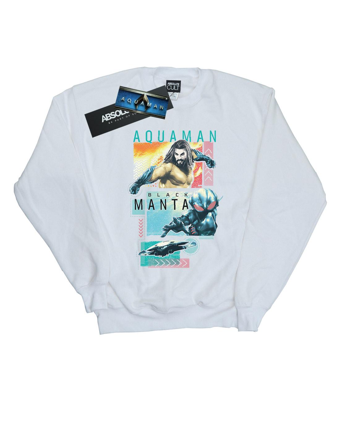DC Comics Herren Aquaman Aquaman Aquaman Character Tiles Sweatshirt    Spielen Sie Leidenschaft, spielen Sie die Ernte, spielen Sie die Welt  a38c6b