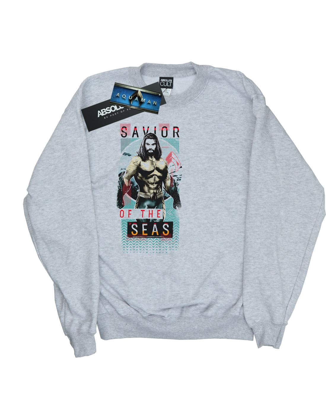 DC Comics Damen Aquaman Saviour of the Seas Seas Seas Sweatshirt | Sofortige Lieferung  | Fein Verarbeitet  | Grüne, neue Technologie  | München Online Shop  | Won hoch geschätzt und weithin vertraut im in- und Ausland vertraut  a995eb