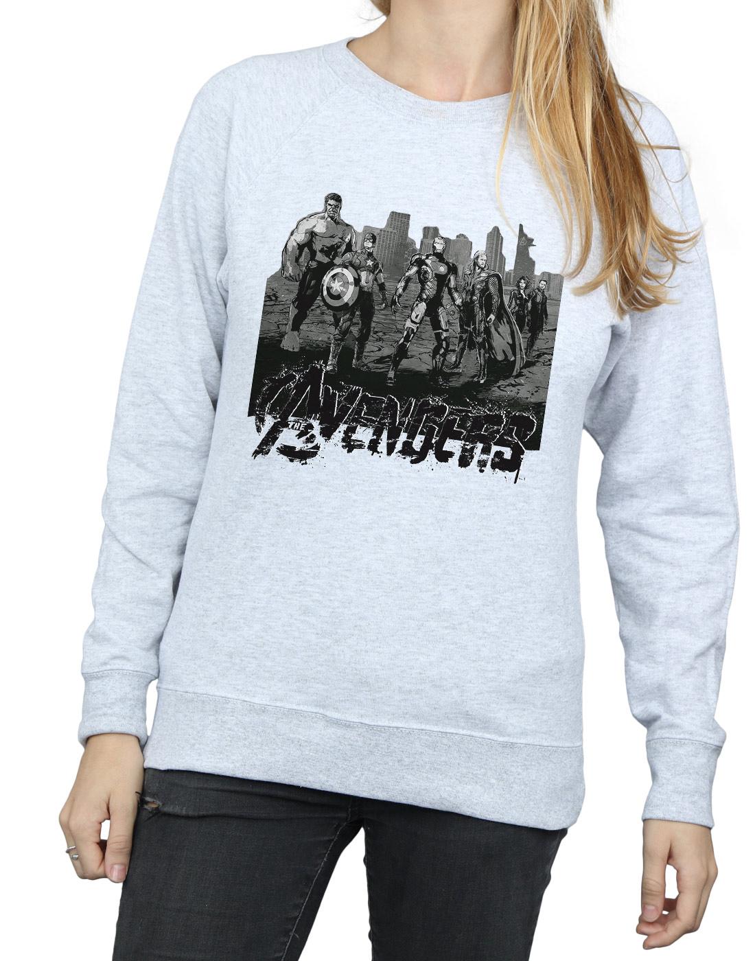 Marvel Damen Avengers Mono Team Art Sweatshirt | | | Guter Markt  | Viele Stile  | Der Schatz des Kindes, unser Glück  eaf6f1