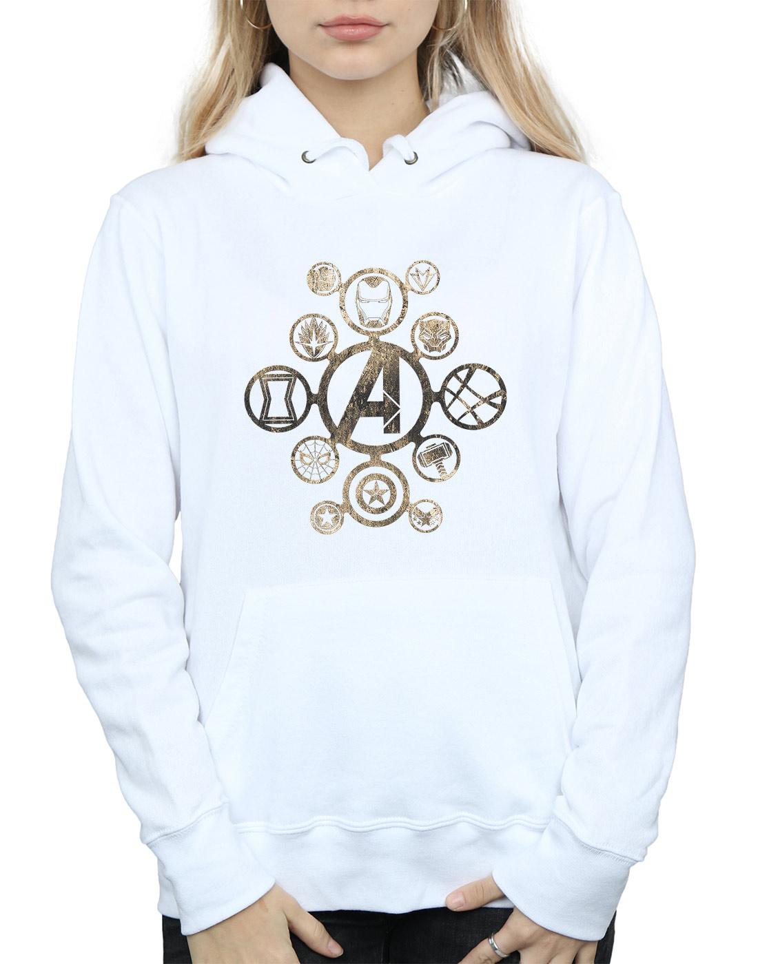 Avengers Damen Infinity Infinity Infinity War Icons Kapuzenpullover 56e409