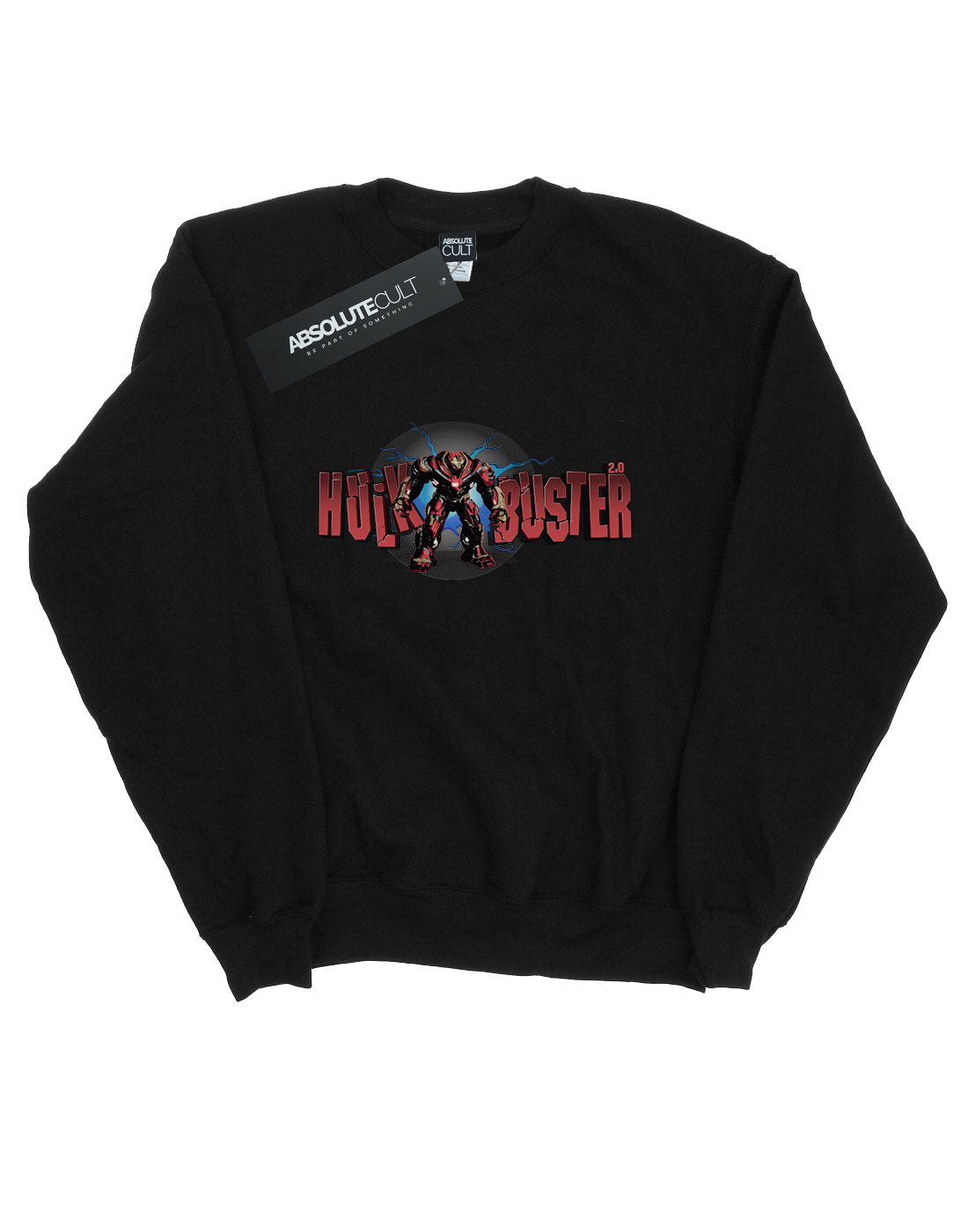 Felpa Infinity Uomo 0 War Hulkbuster 2 Avengers gFw5q