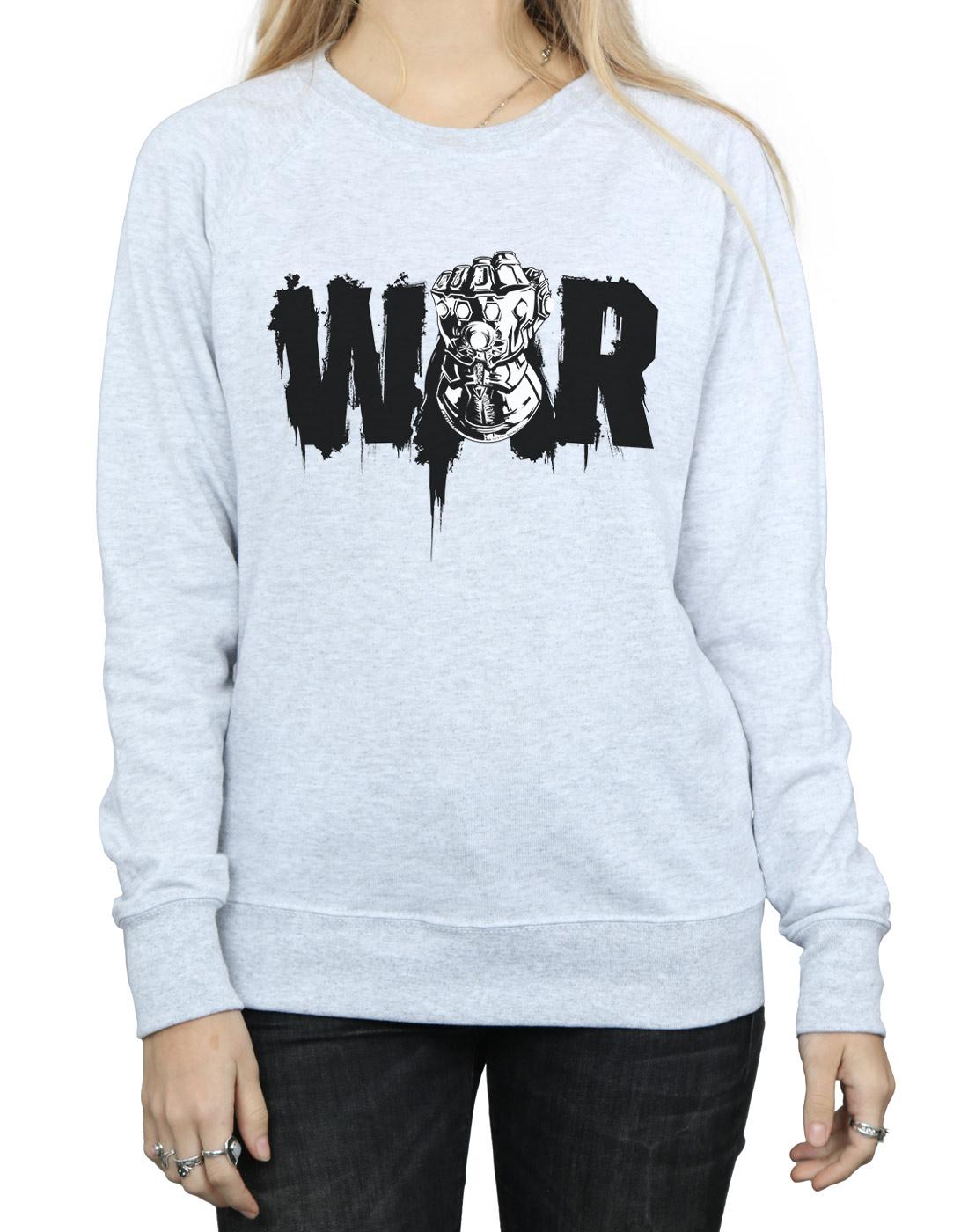 Avengers Damen Damen Damen Infinity War Fist Sweatshirt | Die erste Reihe von umfassenden Spezifikationen für Kunden  | Stil  | Online-Shop  27fca5